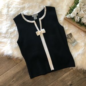 Designer Originals Black & White Cute Top